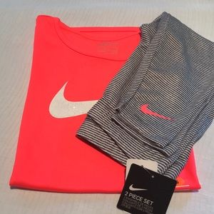 Nike Girls 2 PC Outfit Size 6